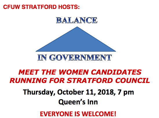 Municipal Election Event October 11th