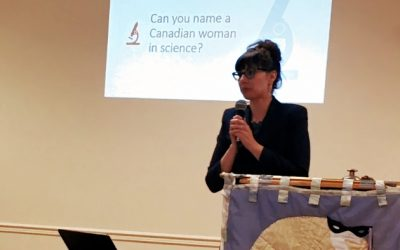 """October General Meeting Highlights: """"A Century of Science: Stories of Canadian Women in STEM"""""""