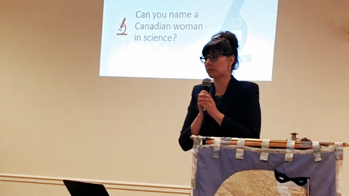 "October General Meeting Highlights: ""A Century of Science: Stories of Canadian Women in STEM"""