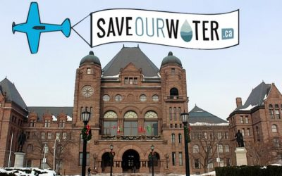 Save Our Water at the Ontario Legislative Assembly
