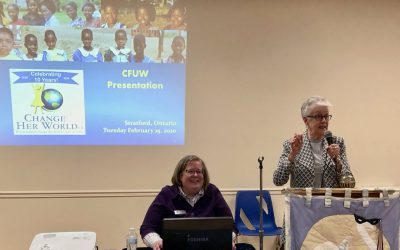 """February General Meeting Highlights: """"Change Her World"""""""