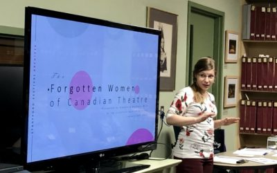 January General Meeting Highlights: Women in Theatre – The Past 100 Years