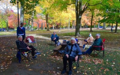 Cafe Book Club Meet in the Park